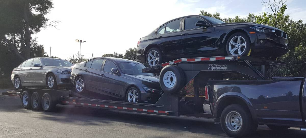ship a vehicle to OR company