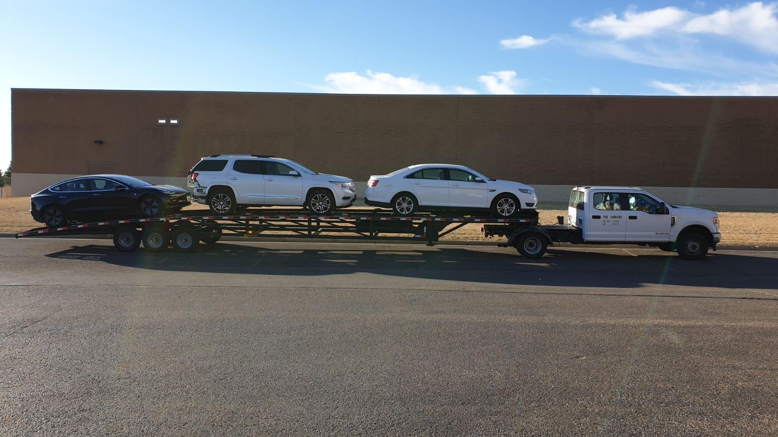 Oregon vehicle transportation service