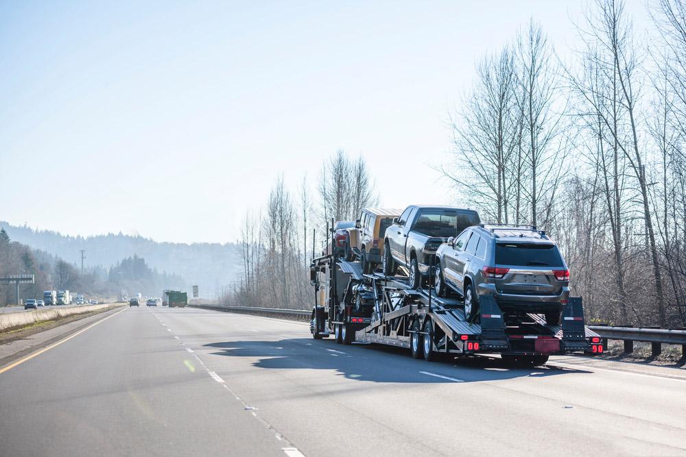 NV vehicle shipping