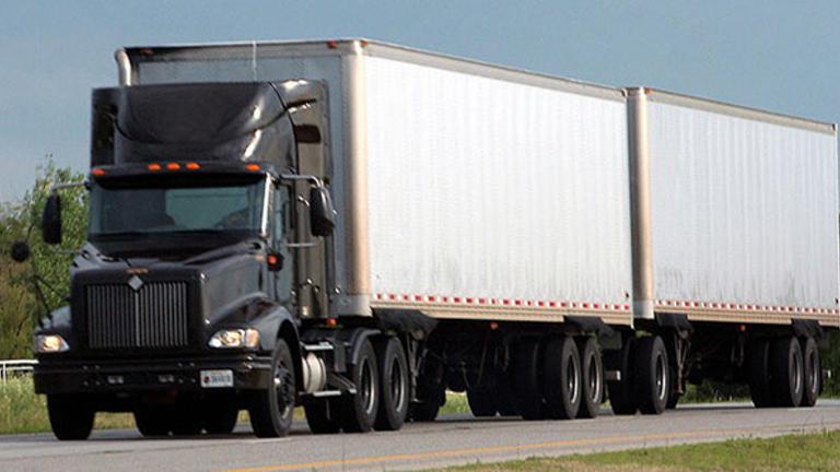 Blast truck shipping