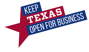 Texas open for business