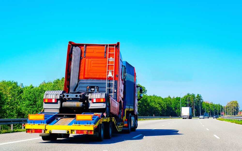single truck shipping