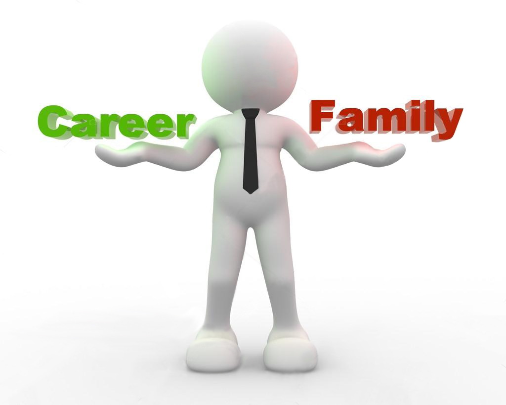 Choice between family and career