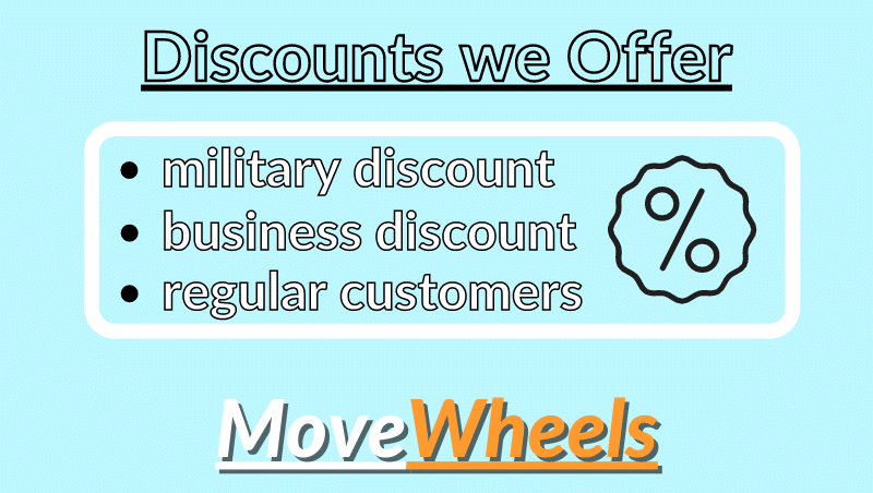 Car shipping discounts we offer