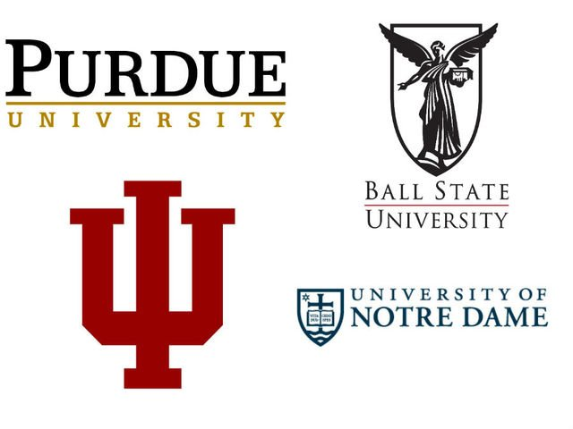 Indiana colleges and univercities