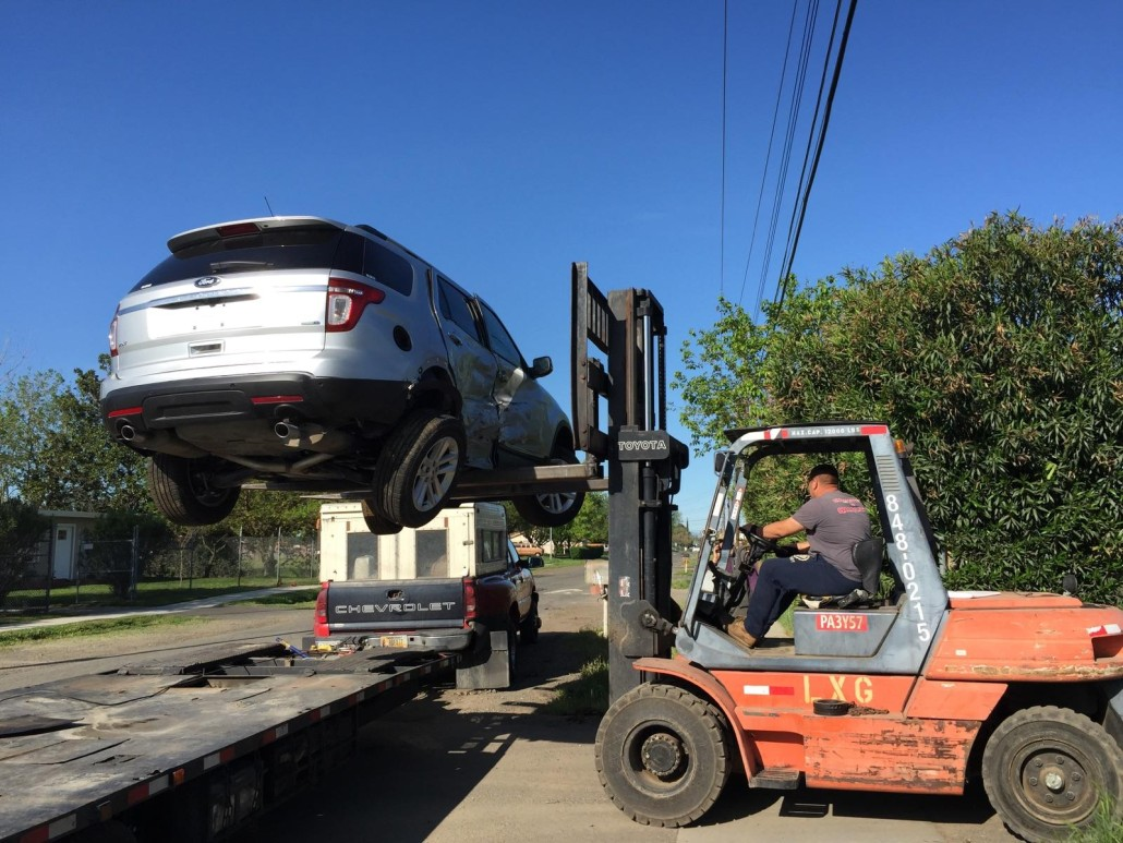 Shipping inoparable cars to HI