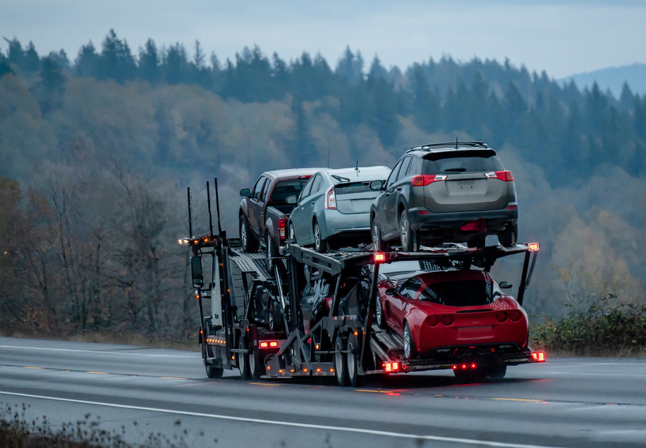 cost to ship a car to Minnesota
