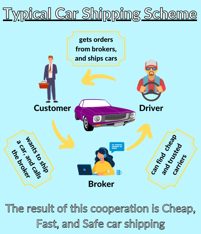 How does MN car shipping work