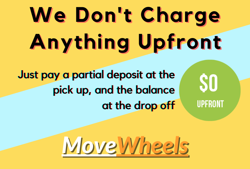 Indiana car shipping with no charges upfront