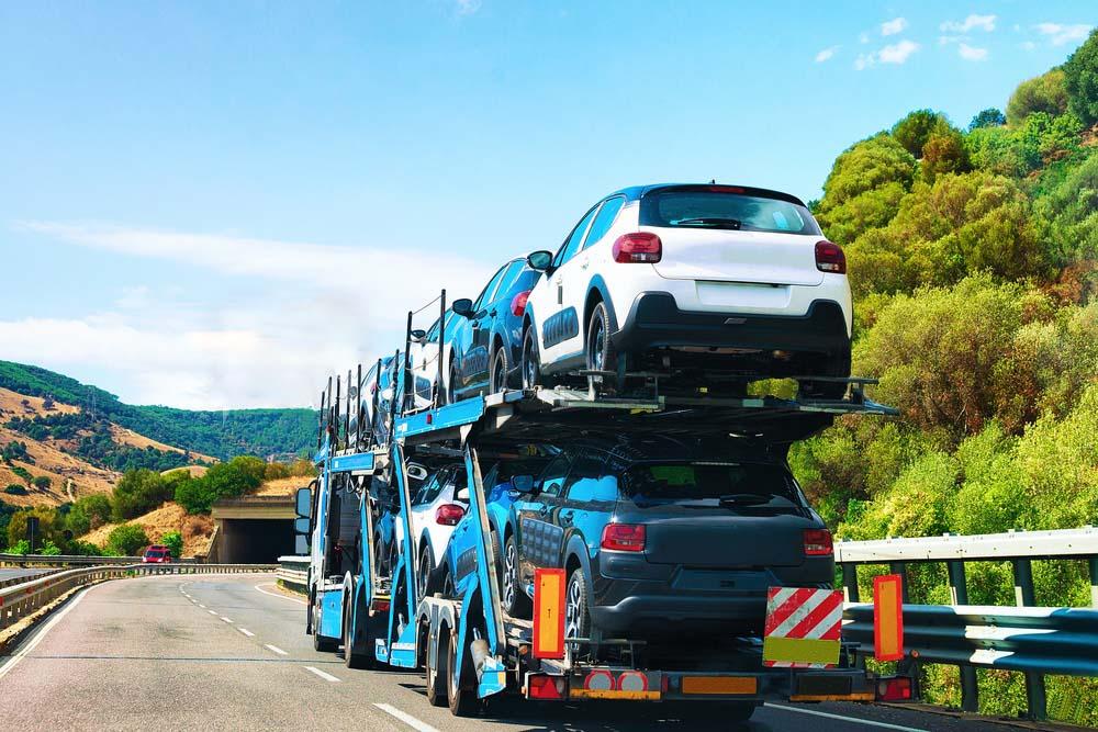 vehicle shipping hauler AR