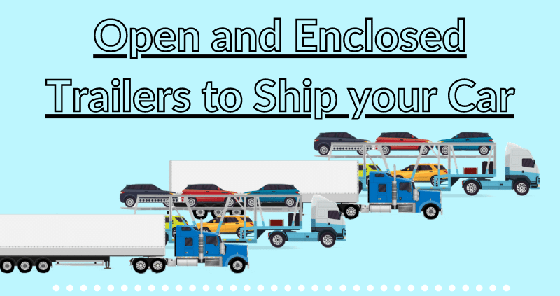 open and enclosed car shipping service