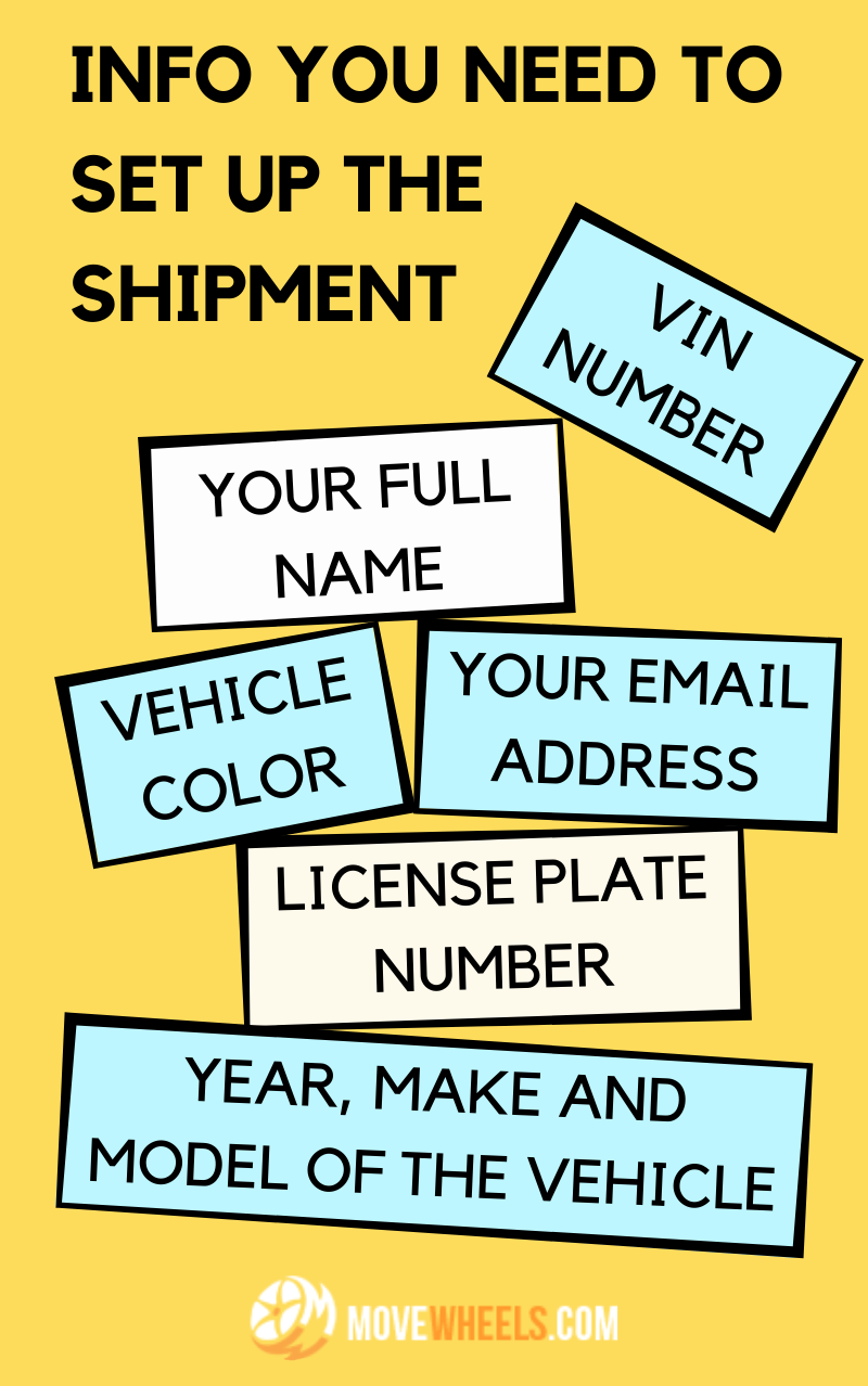How to set up a car shipping