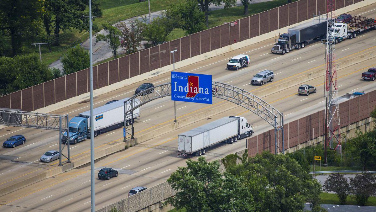 ship vehicles to Indiana