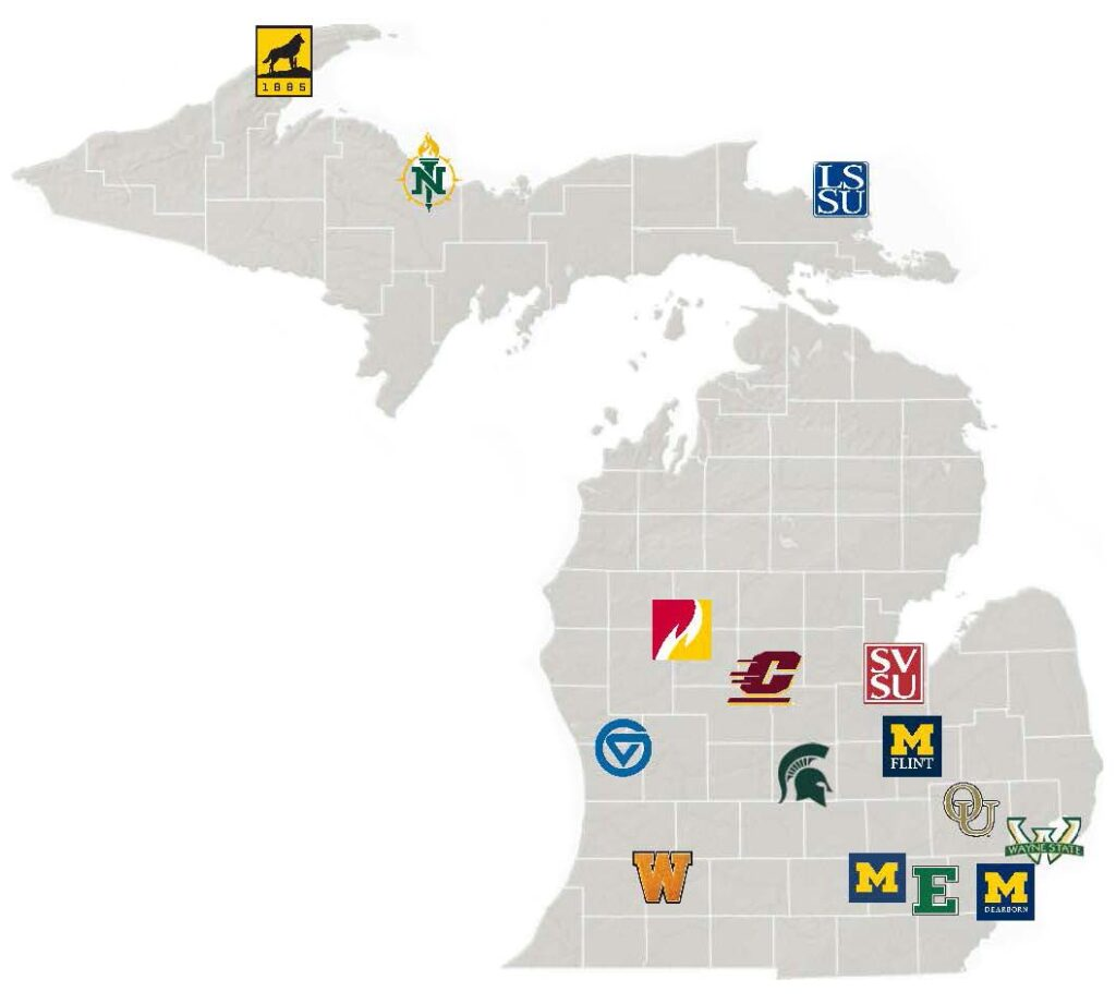 Michigan universities
