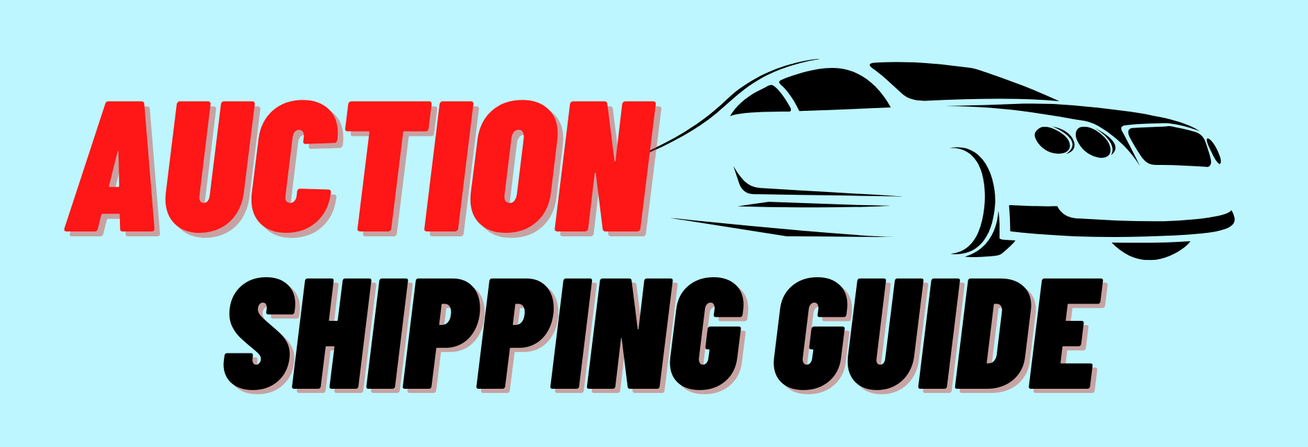 shipping cars from auctions