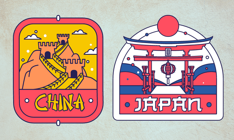 Cost to ship to Japan and China