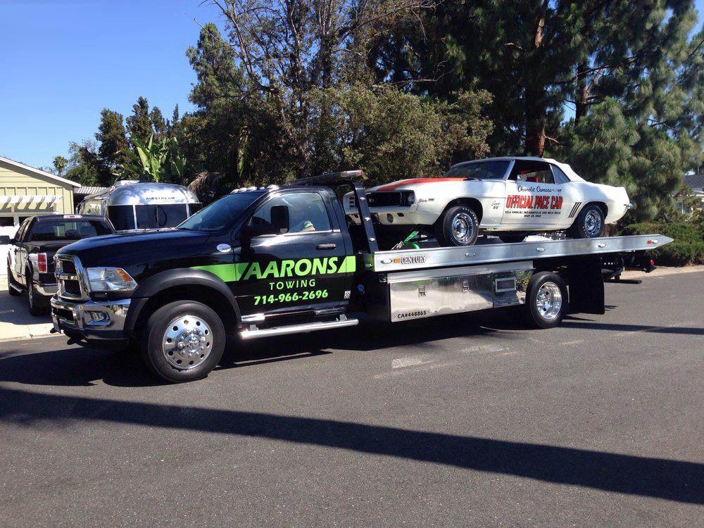Missouri vehicle transport Aaron's Towing Inc