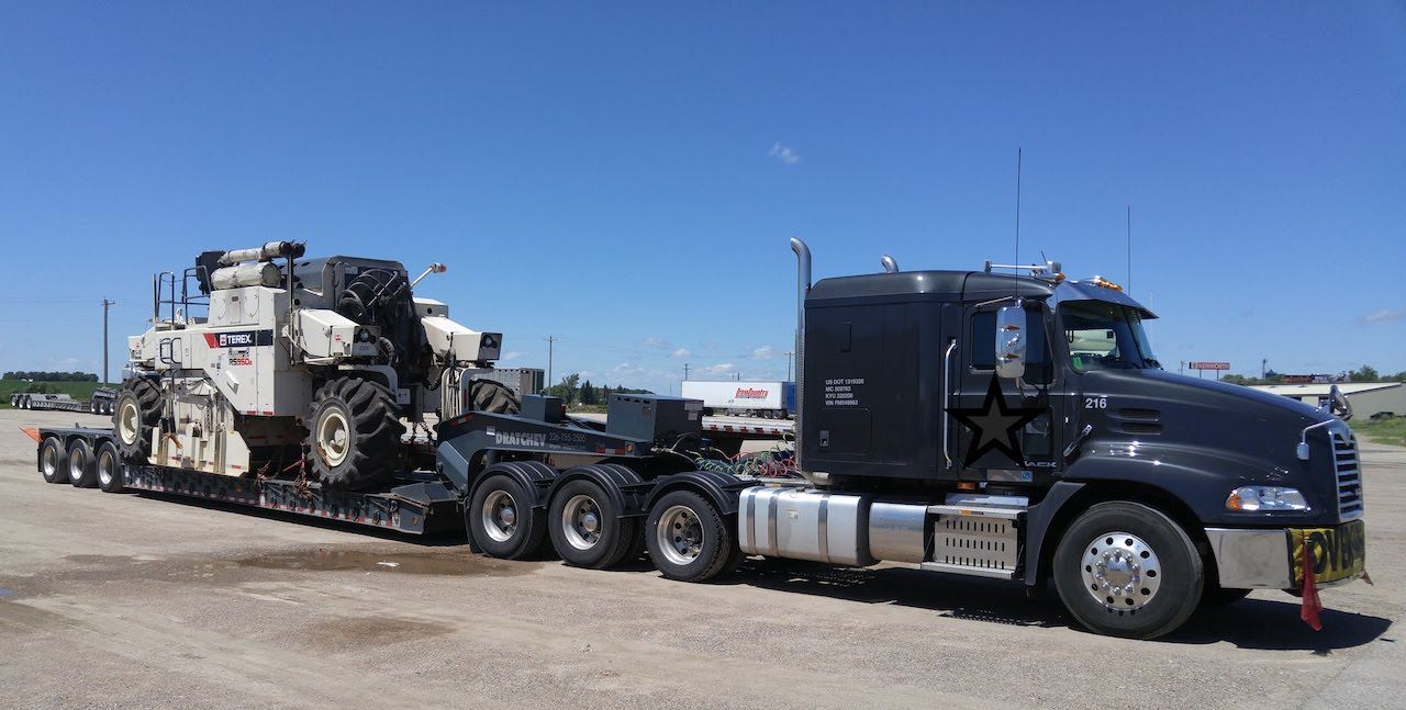 How to prepare a heavy equipment to the transportation