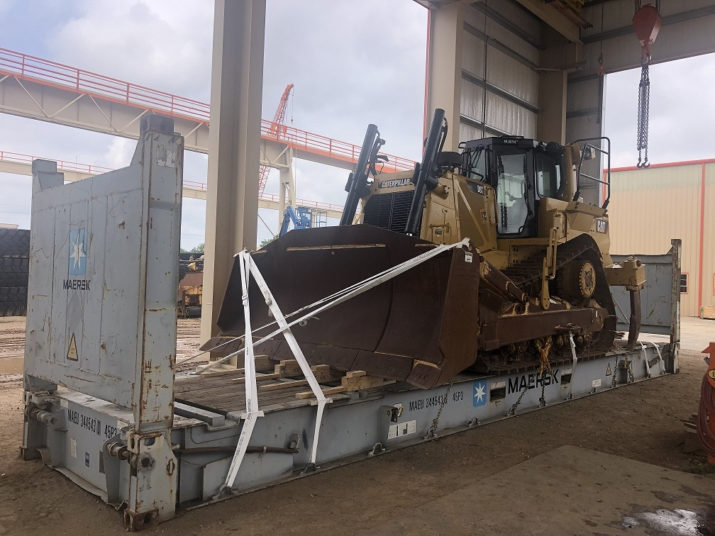 heavy equipment cargo shipping services
