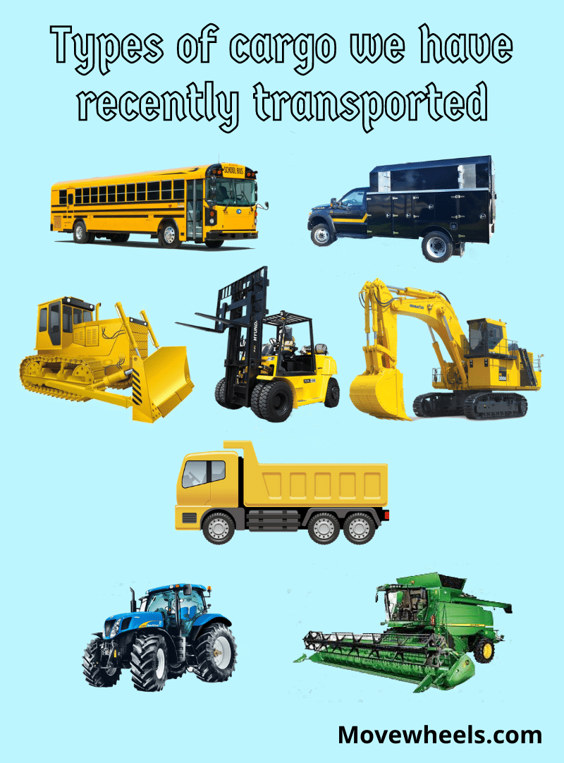 heavy vehicles we can ship