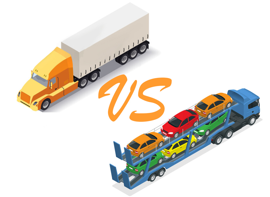 Open car hauler vs Enclosed car hauler, pros and cons