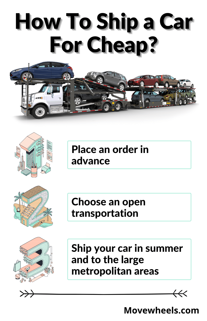 how to ship a car for cheap or cheapest way for shipping a car